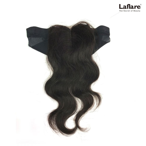 Picture of Laflare Unprocessed 100% Brazilian Virgin Remy Human Hair Lace Part Closure On Cap BODY