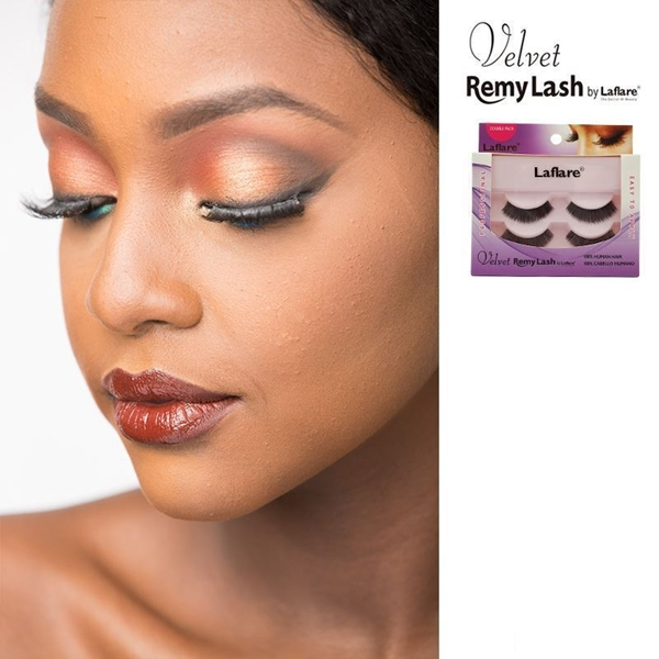 Picture of Laflare Eyelashes Velvet Remy Lashes (DOUBLE PACK)