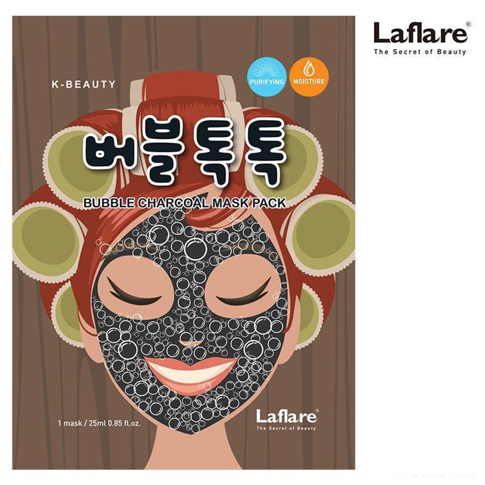 Picture of K-Beauty BUBBLE CHARCOAL MASK PACK