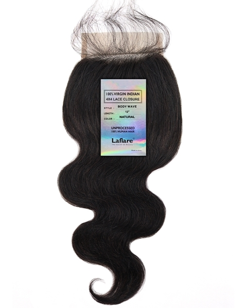 Picture of INDIAN 4X4 LACE CLOSURE _ BODY WAVE