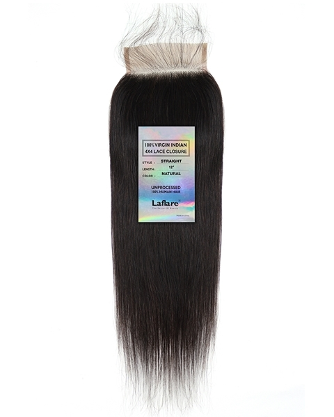 Picture of INDIAN 4X4 LACE CLOSURE _ STRAIGHT